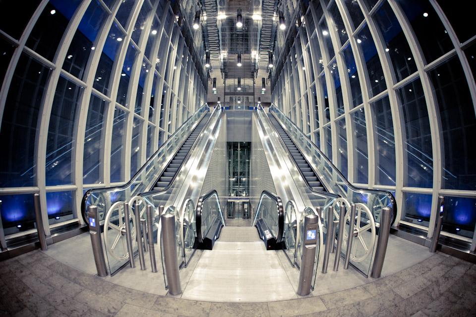 Metrostation Blijdorp in Rotterdam