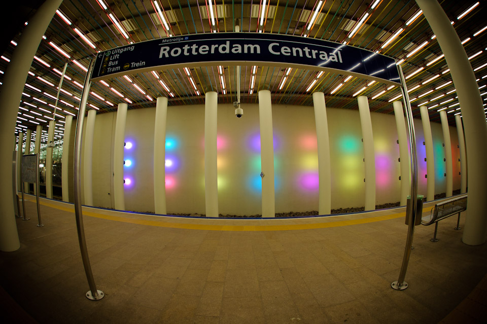 Centraal Station metro