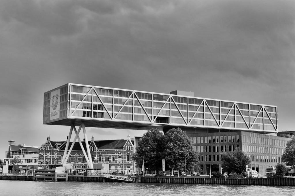 De Brug - hoofdkantoor van Unilever in Rotterdam